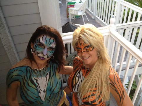 Check out additional body paint work done during other events by body