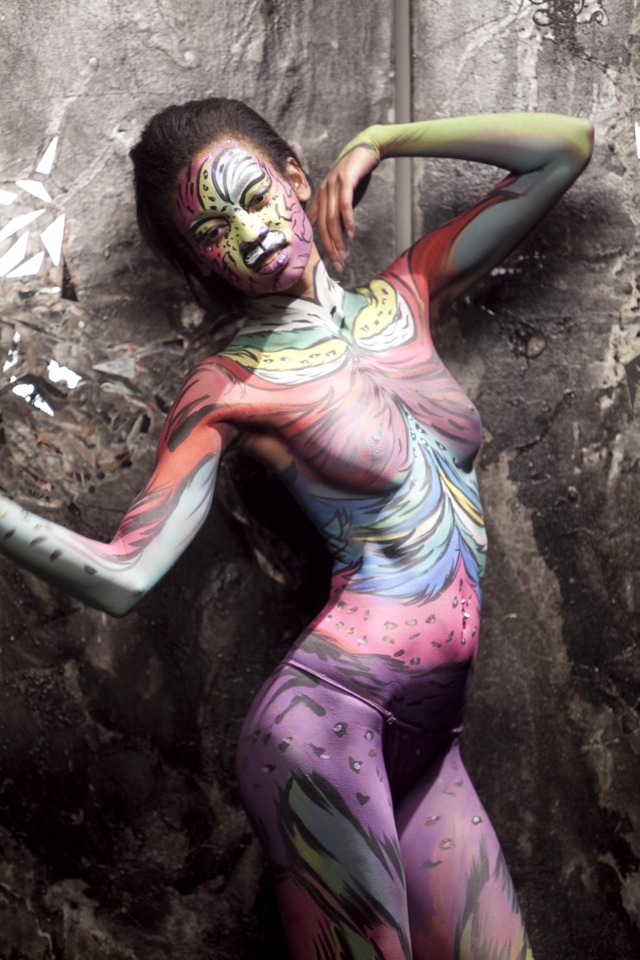 Body Painting Key West FL In